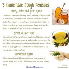 Homemade cough remedies that work