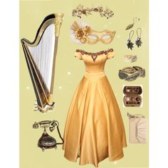 """A golden ball"" by thegirlwhono-oneknows on Polyvore"