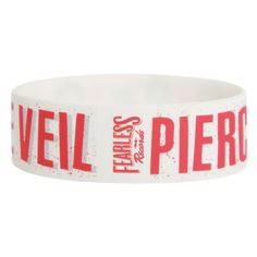 Pierce The Veil Red Lines Rubber Bracelet | Hot Topic ($5.60) ❤ liked on Polyvore featuring jewelry, bracelets, rubber bracelets, accessories, bands, rubber bangles, red bangles, hot topic jewelry, red jewelry and red jewellery