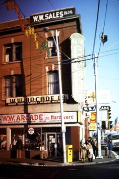 WW Arcade on Jasper Avenue and 97 Street. Dundas Ontario, Alberta Canada, Amazing Places, Places To See, New York City, The Good Place, Cool Photos, Cities, The Neighbourhood
