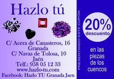 20%  de descuento en las piezas de los cuencos en HAZLO TÚ ¡¡DALE LA VUELTA AL TICKET!! del Dia% de Plaza de Toros