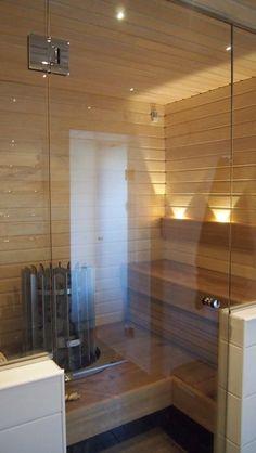 sauna + valot