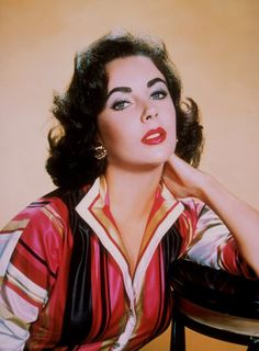A Look at Hollywood Beauty Icon, the Bold Elizabeth Taylor Hollywood Icons, Old Hollywood Glamour, Golden Age Of Hollywood, Hollywood Stars, Classic Hollywood, Hollywood Actresses, 1950s Movie Stars, Classic Movie Stars, Divas