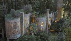 Omgjord cementfabrik blir magnifikt hem