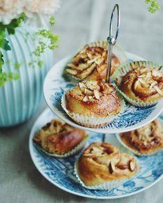 Yoghurt og bananpannekaker Banan, Pancakes, Muffin, Breakfast, Food, Morning Coffee, Essen, Pancake, Muffins