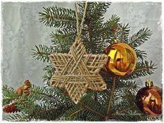 Tutorial per creare con lo spago decorazioni per l'albero di Natale - Il blog italiano sullo Shabby Chic e non solo