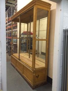 Vintage French 19th Century Walnut Shop Counter Bobo