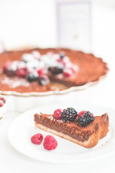 Winter Bakery: Choco-Cheesecake | The Daily Dose