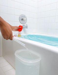 Emergency Bath Tub Water Storage System - Red Cross Store