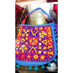 Sindhi Embroidery Hand Bags Us Online Clothing Stores, Kashmiri Shawls, Handmade Dresses, Tribal Art, Hand Bags, All Art, Consciousness, Natural Gemstones, Vintage Dresses