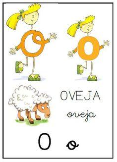 Éste es un precioso  abecedario que nos servirá, en un futuro, para aprender las letras;  además, como aparecen los personajes de El Pa...