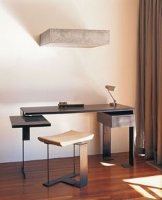 Chareau Desk and Stool