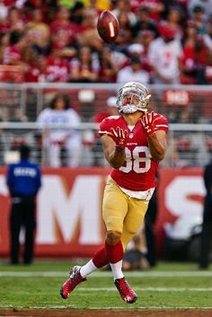 Dallas Cowboys vs. San Francisco 49ers - #JarrydHayne #38 of the San Francisco 49ers returns a punt against the Dallas Cowboys in the first quarter of a preseason game on August 23, 2015 at Levi's Stadium in Santa Clara, California.