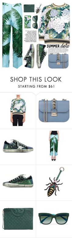 """Smokin' Hot: Summer Date Night"" by italist ❤ liked on Polyvore featuring Dolce&Gabbana, Valentino, Golden Goose, F.R.S For Restless Sleepers, Essentiel and Tory Burch"