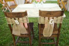 Rustic Wedding Ideas Using Burlap | Rustic Folk Weddings