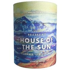 Haleakala House of the Sun Candle  By: Ethics Supply Company  $ 38.00 Aromatherapy Candles, Water Bottle, Sun, Adventure, Drinks, Gifts, House, Drinking, Beverages