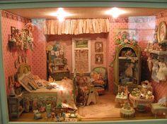 Denise Morales' Miniature Nursery Scene