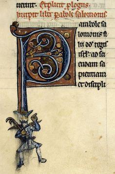 Bibliothèque municipale de Dijon Bible / Diable, ms 0010, f 068 « cliché CNRS - IRHT »