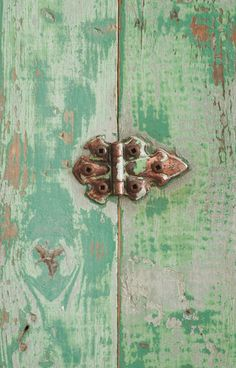Vintage Wood Jam Cupboard detail  Kitchen Cabinet Mid Century by Hindsvik, (original sea foam green color!!)