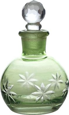 Peridot Green Perfume Bottle (Nikita design)