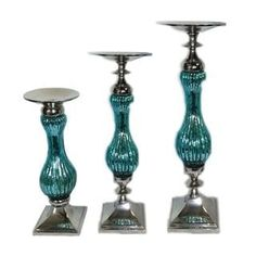 Shop for Benzara Elegant 3-piece Pillar Candle Holder. Get free shipping at Overstock.com - Your Online Home Decor Outlet Store! Get 5% in rewards with Club O! - 23075835