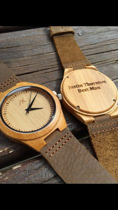 Mens Wooden Watch Bamboo Wood Watch Engraved Wooden Watch by axMen Watch Gift Box, Wooden Watches For Men, Watch Engraving, Wood Watch, Groomsman Gifts, Fashion Watches, Gifts For Him, Anniversary Gifts, Mens Fashion