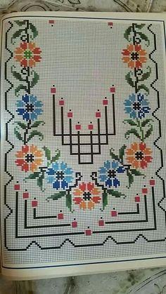 Cross Stitch Pillow, Cross Stitch Rose, Cross Stitch Borders, Cross Stitch Flowers, Cross Stitch Designs, Cross Stitching, Cross Stitch Embroidery, Hand Embroidery, Cross Stitch Patterns