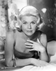 Doris Day, one of my favorites!  Love, love, love her music. Reminds me so much of my mom.