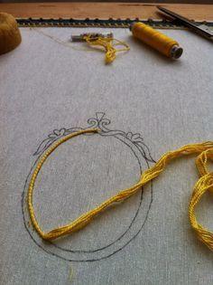 Flor perlas Stick envase Stick envase imagen bordar con perlas 440