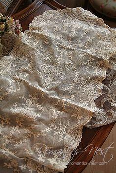 Edwardian lace