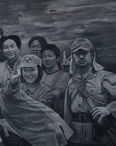 2009 CAST & CREW, Guo Jian (b1962, Duyun, Guizhou Province, China; based in Sydney, Australia since 1992 when he was deported from China)   right panel   PIN made by RomANikki