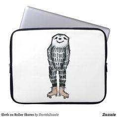 Sloth on Roller Skates #sloth #roller #skates #phone #case #wallet #funny #humor…