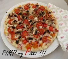 Une pizza surgelée améliorée avec des produits frais...