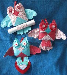 - Valentine's Day Owl Stuffies