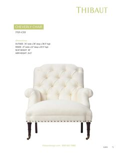 ISSUU - Thibaut Fine Furniture | Chairs by Thibaut Inc
