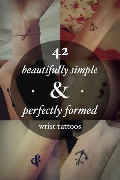 42 Beautifully Simple Wrist Tattoo Ideas You'll Love