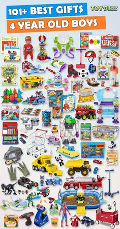Browse our Gift Guide featuring Best Birthday Toys For 4 Year Old Kids. Discover educational toys, unique kids gifts, kids games, kids books, and more for your 4 year old boy. Make his Birthday extra magical with these delightful picks he'll love!
