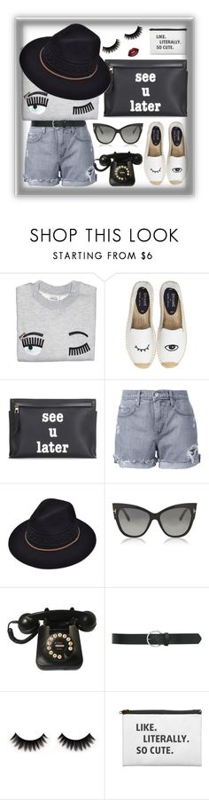 """""""Untitled #3016"""" by bren-johnson ❤ liked on Polyvore featuring Soludos, Loewe, Nobody Denim, Tom Ford, M&Co and Lime Crime"""