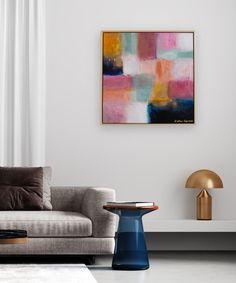 Esther Gemser Art | Abstract schilderij kunst modern | woonkamer wooninspiratie woonidee Creative Art, Original Art, The Originals, Painting, Collection, Modern, Kunst, Trendy Tree, Painting Art