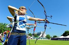 Take a bow: Alison Williamson practises for her event at Lord's cricket ground Olympic Gymnastics, Olympic Games, Gymnastics Quotes, Volleyball Posters, 2012 Summer Olympics, Jordyn Wieber, Team Gb, Olympic Athletes, Archery
