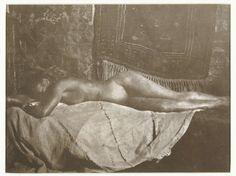 liggend naakt, George Hendrik Breitner, 1890 - 1900