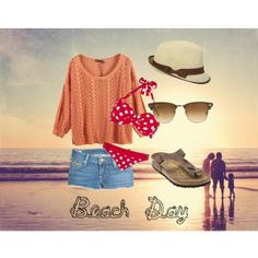 """""""Beach Day"""" by mallory-thompson on Polyvore"""