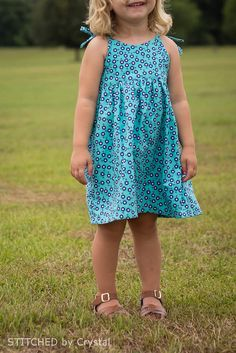 I am so excited to participate in Melly Sews  30 Days of Sundresses!  For the series, I decided to sew a girls sundress and came up with a r...