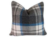 Plaid Throw PIllows - Cozy!