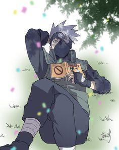 Kakashi Sharingan, Naruto Kakashi, Anime Naruto, L Anime, Naruto Boys, Naruto Fan Art, Shikamaru, Anime Guys, Estilo Anime