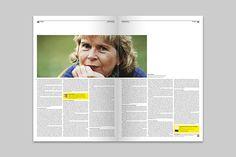 VOLLTEXT - Zeitung für Literatur on Behance