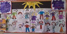 3ο Νηπιαγωγείο Ηγουμενίτσας-Τα νήπια ζωγράφισαν μια δασκάλα, την ονόμασαν ΕΛΠΙΔΑ, και της έδωσαν έναν χάρακα με φαντασία και ένα βιβλίο με τη φιλία τους, για όλα τα παιδιά του κόσμου.
