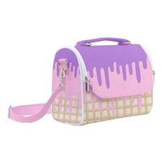 Kawaii Messenger Bag cute field bag decora japanese school bag pastel sweet lolita pink book bag rucksack harajuku