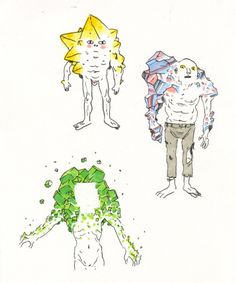 Tom Herpich, crystallized characters inspired (especially the...