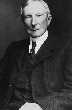 John D. Rockefeller used his keen business sense to found Standard Oil Company, a move that made him one of the wealthiest men in the world. John Davison, John D Rockefeller, Business Magnate, Ugly Americans, Happy May, Rich People, Modern History, New Image, Billionaire